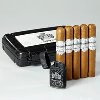 Macanudo Inspirado White Gift Set  5 Cigars + Humidor + Lighter