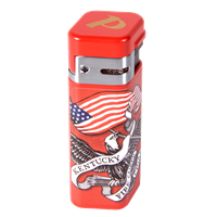 Palio Kentucky Fire Cured Torch Lighter  KFCC - Red