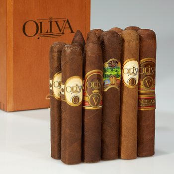 Search Images - Oliva 90+ Rated Sampler Box  10 Cigars