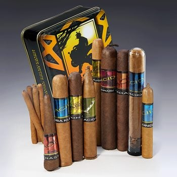 Search Images - ACID by Drew Estate LE Sampler Tin  14 Cigars