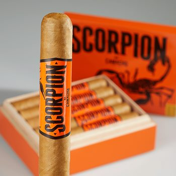 "Search Images - Camacho Scorpion Sweet Tip Robusto (5.0""x50) Box of 10"