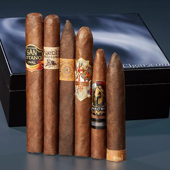 Search Images - CIGAR.com 6-Cigar Starter Sampler  6 Cigars + Accessories