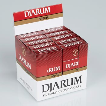 "Search Images - Djarum Special Filtered Cigars (Cigarillos) (3.5""x18) Pack of 120"