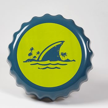 Search Images - LandShark Bottlecap Ashtray  Blue