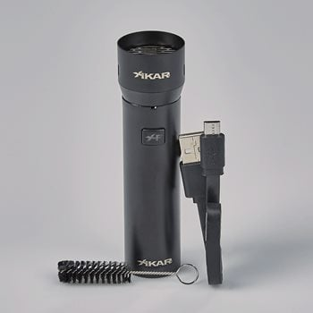 Search Images - Xikar XFlame Electronic Lighter  Black