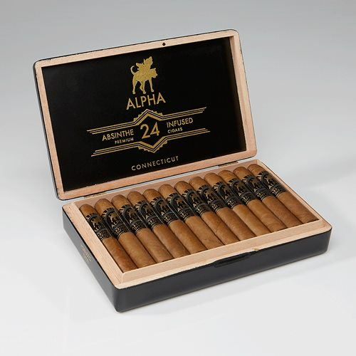 Alpha Absinthe Infused Connecticut Cigars