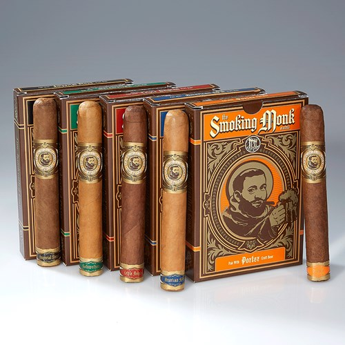 Drew Estate The Smoking Monk Collection Cigar Samplers