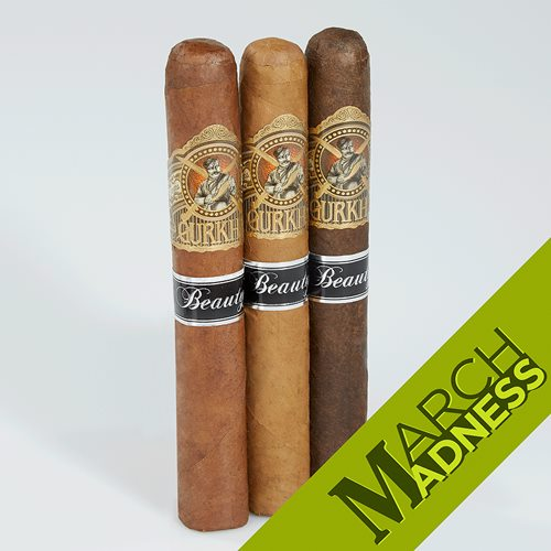 Gurkha Beauty Trio Set Cigar Samplers