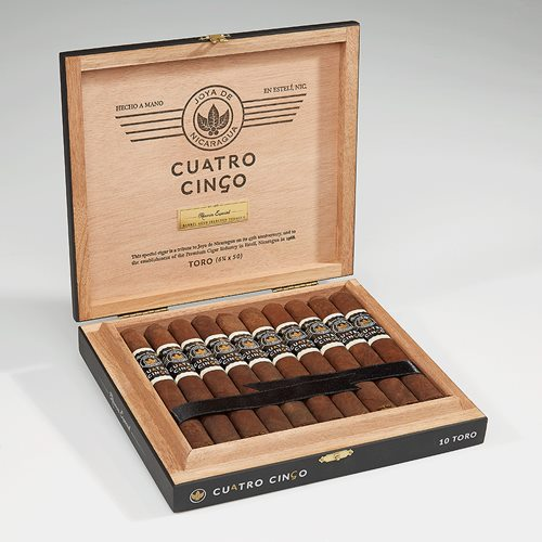 "Joya de Nic Cuatro Cinco (Toro) (6.2""x50) Box of 10"