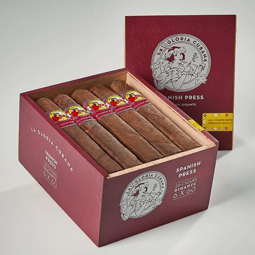 La Gloria Cubana Spanish Press Cigars