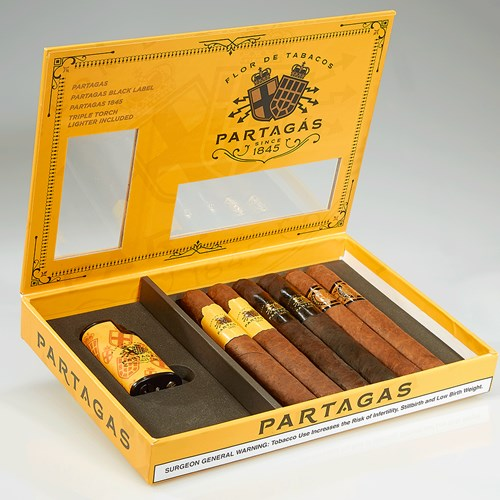 Partagas Holiday Collection w/ Lighter 2017  6 Cigars