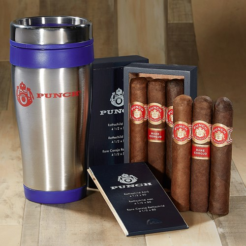 Punch Rothschild 6-Cigar + Tumbler Collection Cigar Samplers