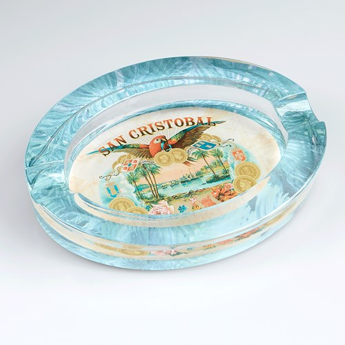 San Cristobal Crystal Ashtray