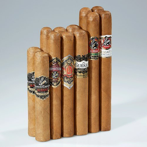 Gurkha Connecticut Royalty Collection Cigar Samplers