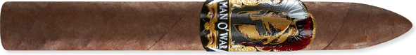 Man O' War Torpedo Handmade Cigars Box of 22