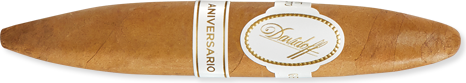 "Davidoff Aniversario Series Short Perfecto (4.8""x52) Pack of 4"